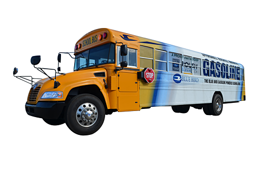 Western Bus Sales | Gasoline Type C Blue Bird Vision On The Way