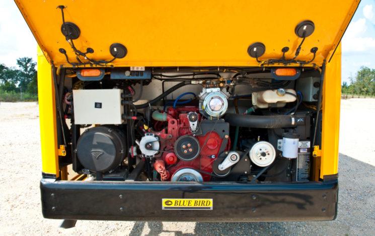 type d blue bird all american rear engine | western bus ... blue bird transit bus engine diagram